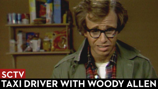 SCTV Taxi Driver with Woody Allen