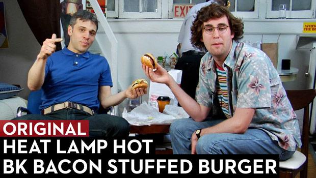 BK Bacon Stuffed Burger Review: Heat Lamp Hot Episode 2
