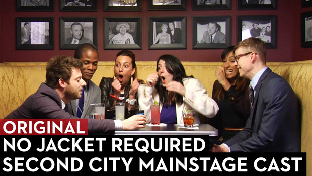 The Second City Mainstage Cast on No Jacket Required