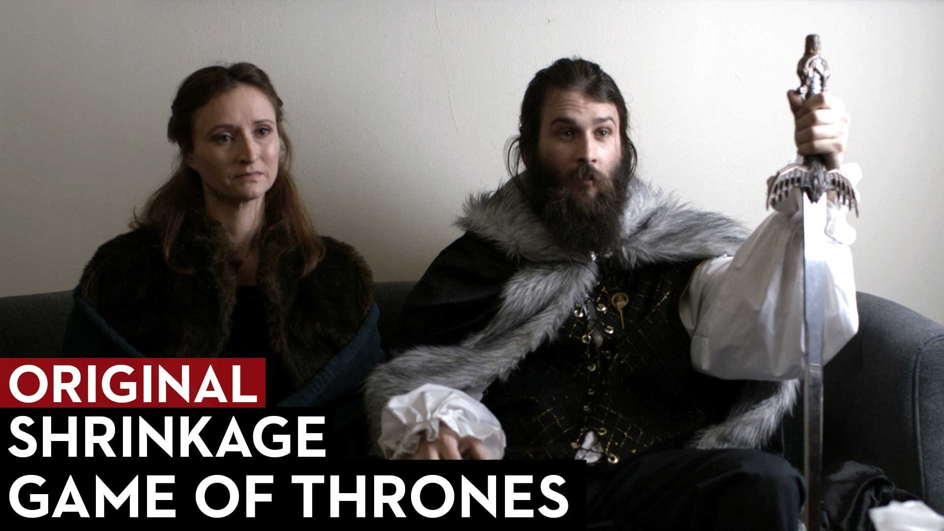 Game of Thrones' Ned Stark and Catelyn Stark Go to Therapy - Shrinkage Episode 4
