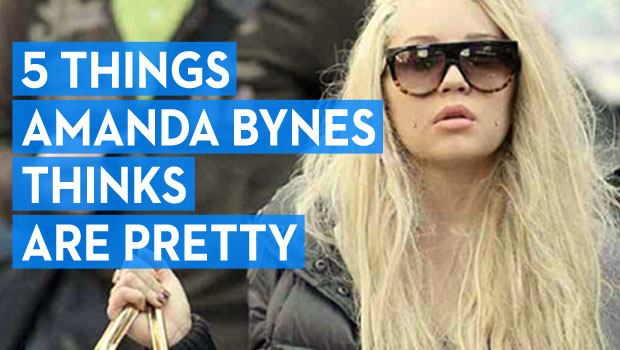 5 Things Amanda Bynes Thinks Are Pretty