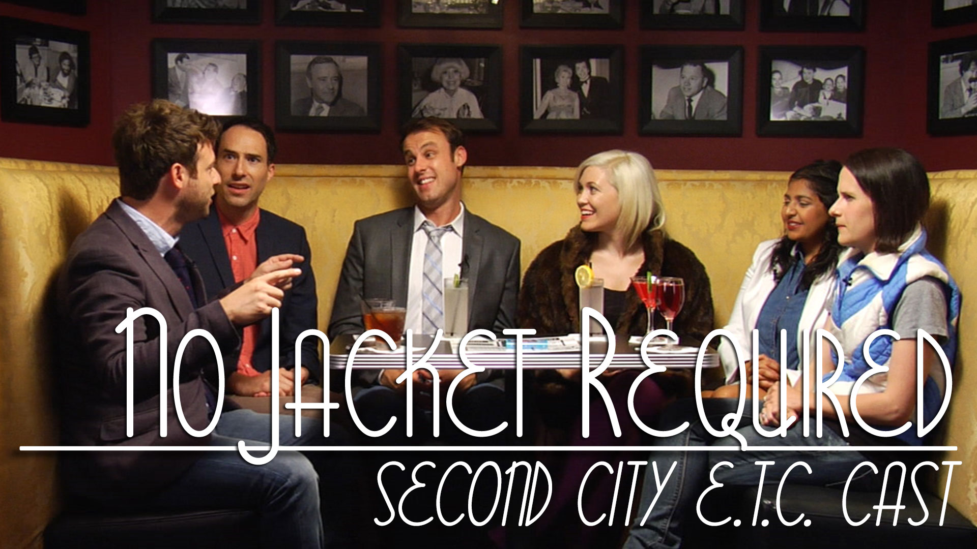 The Second City E.T.C. Cast on No Jacket Required