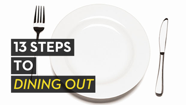13 Steps to Dining Out