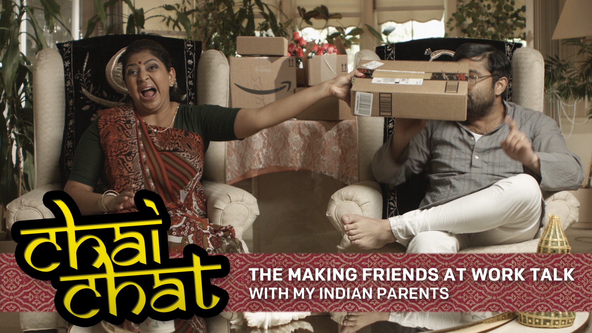 Chai Chat: The Making Friends At Work Talk - With My Indian Parents