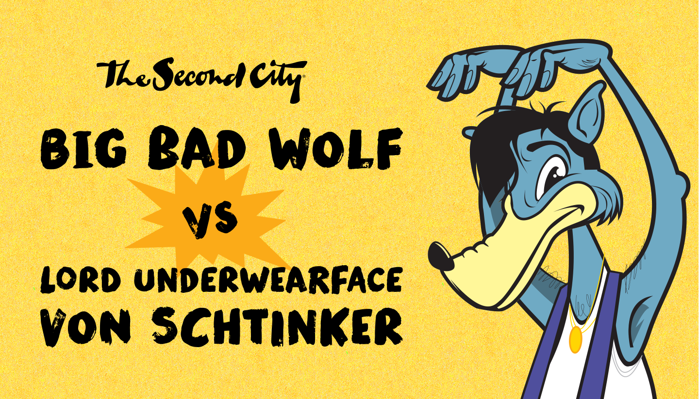 Big Bad Wolf vs. Lord Underwearface