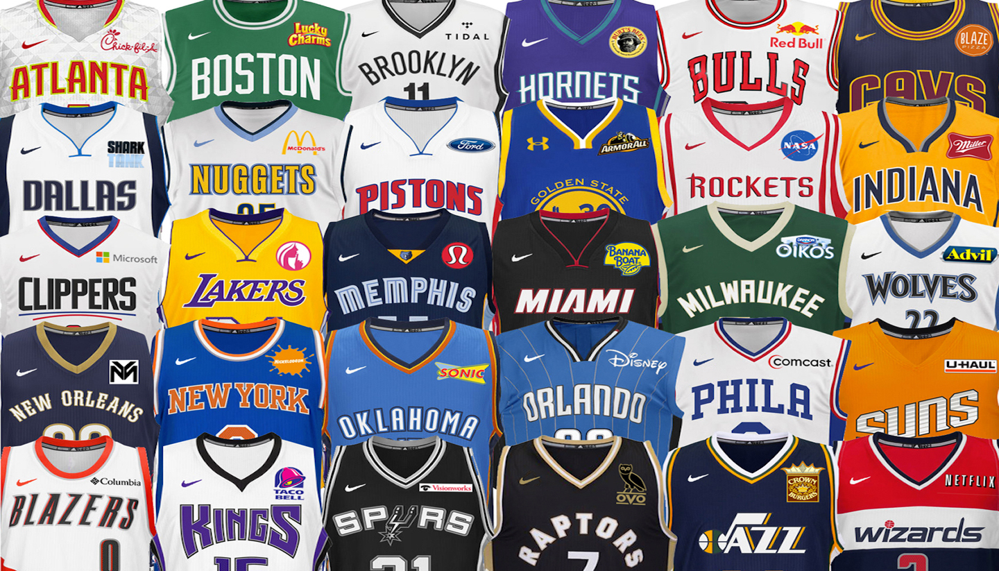 The Ideal Jersey Sponsors For Every Single Nba Team The