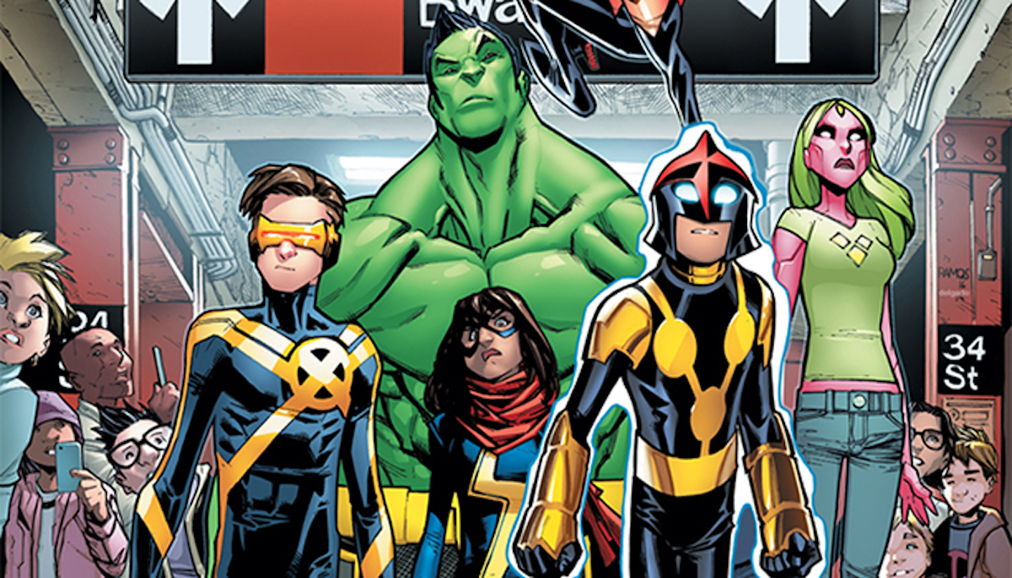 Who Are Marvel's Champions? A Guide for New Readers and Angry White Fanboys