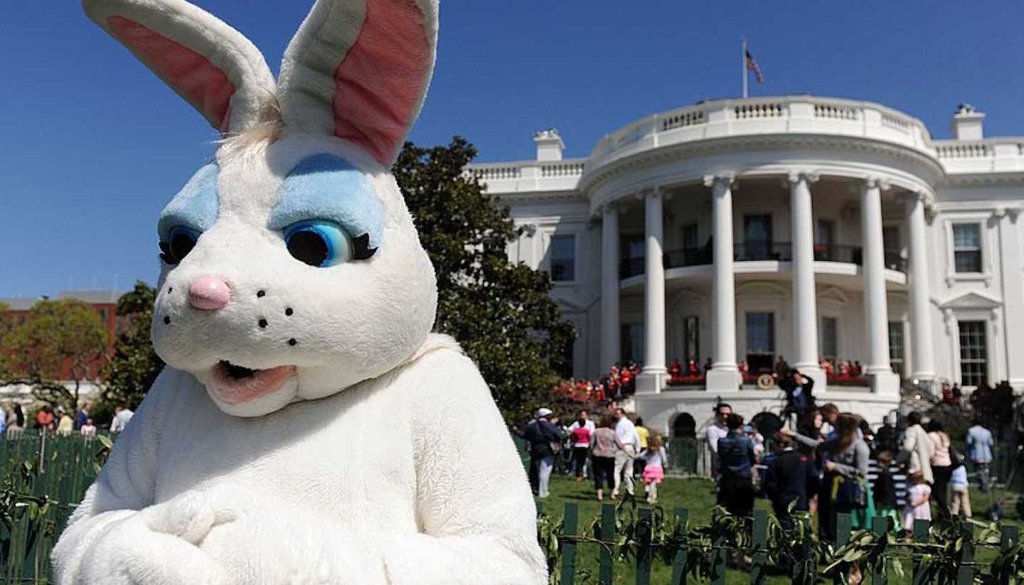 the official white house schedule for the traditional easter egg