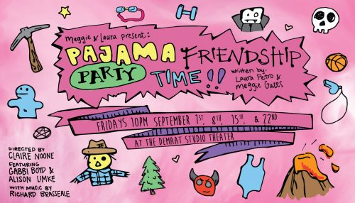 Pajama Friendship Party Time