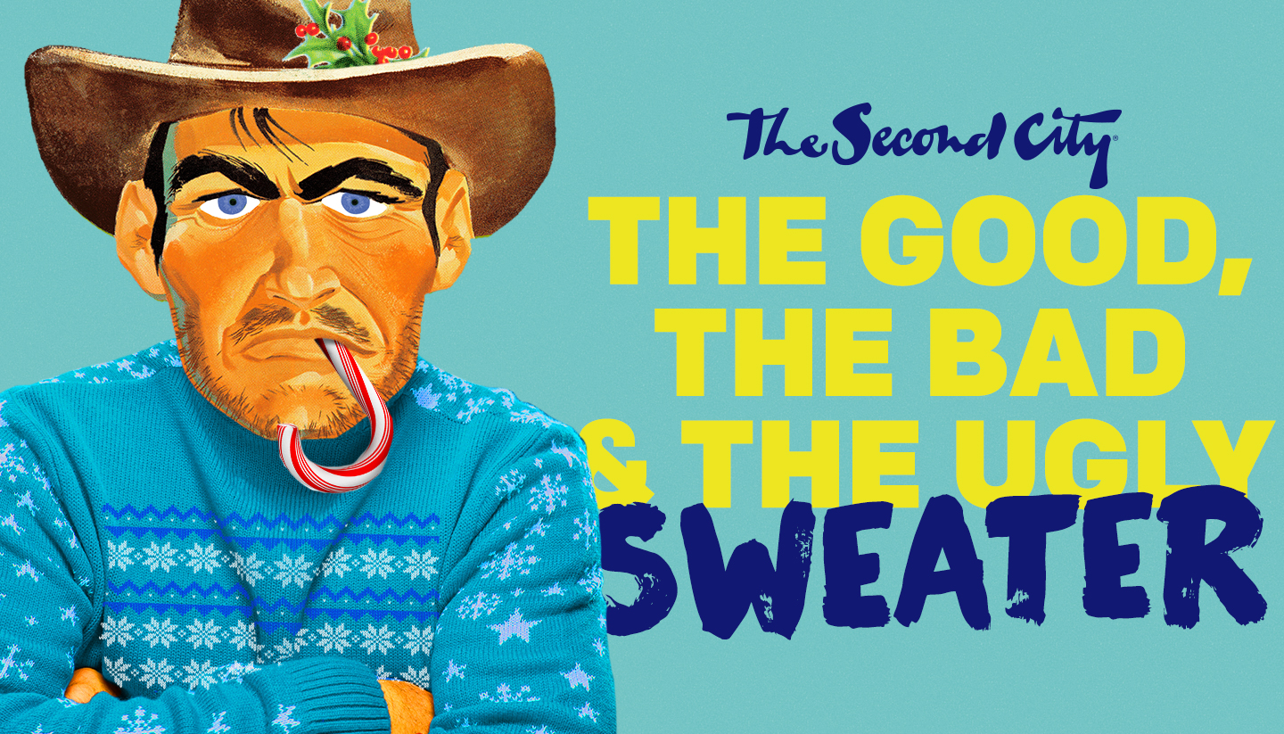The Good The Bad & The Ugly Sweater