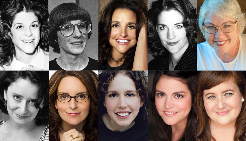 Women cast members snl The Top