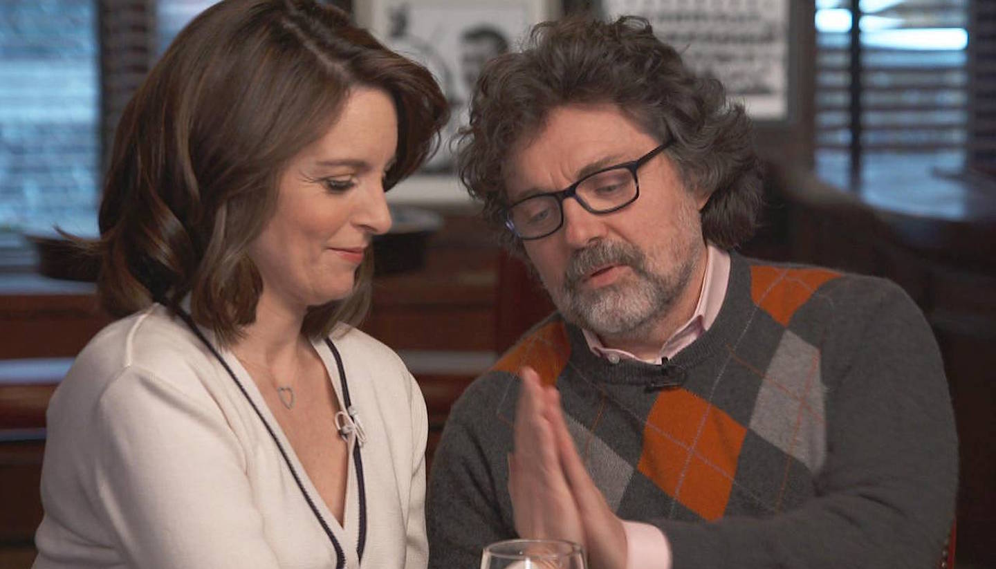Tina Fey & Jeff Richmond High-Fived Their Partnership And Also Talked About 'Mean Girls' On 'CBS This Morning'