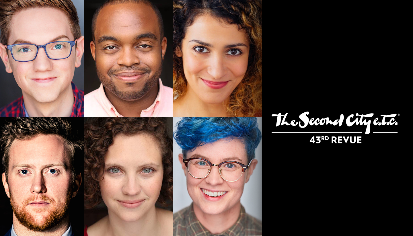 The Second City e.t.c.'s 43rd Revue Announces Casting