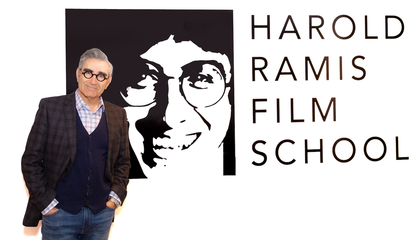 Comedy Legend Eugene Levy Lit Up Harold Ramis Film School