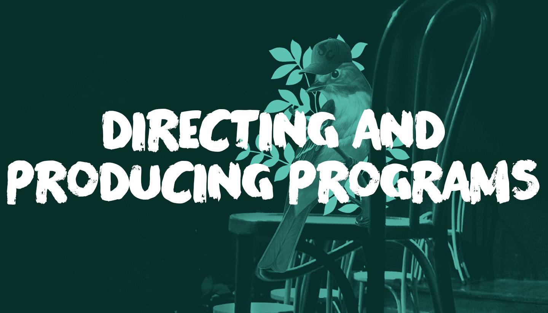 2020 Directing & Producing