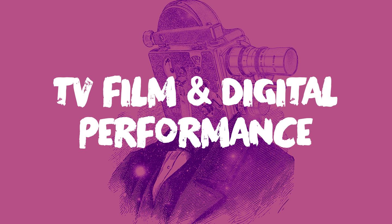 2020 TV, Film & Digital Performance