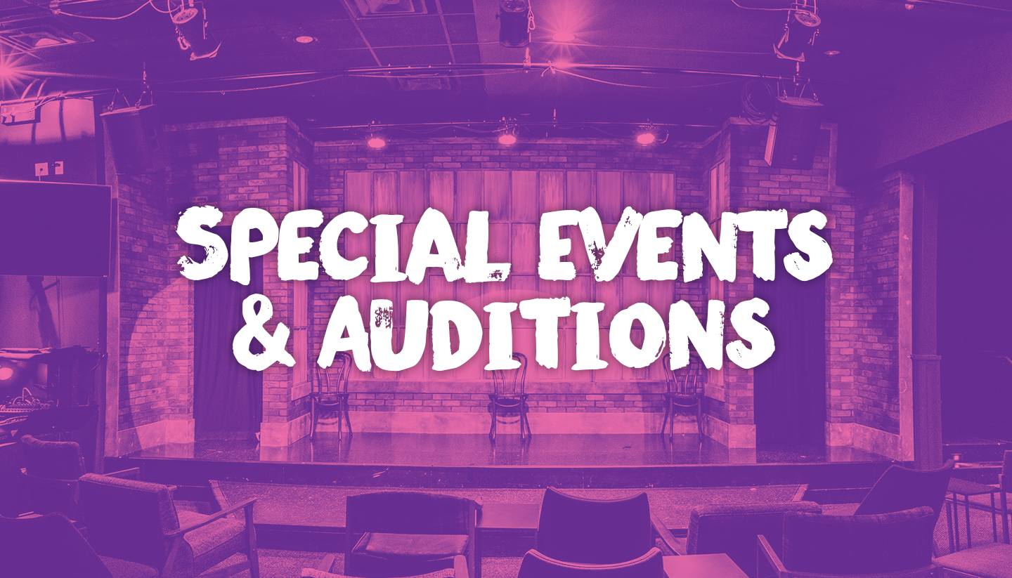 Special Events & Auditions
