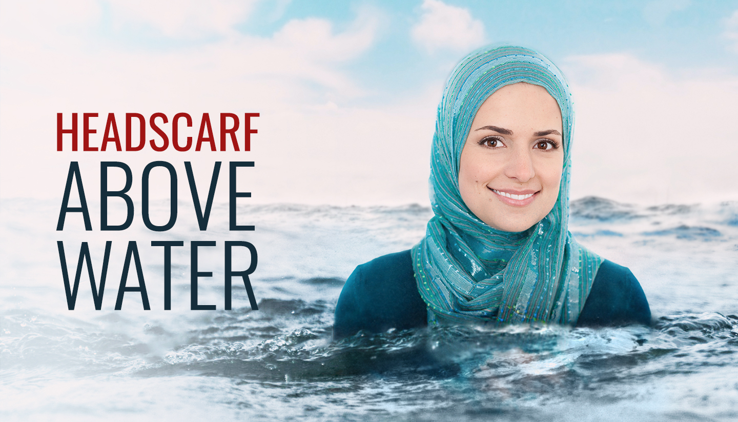 Headscarf Above Water
