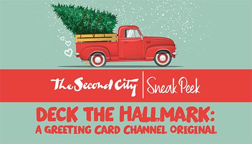 SNEAK PEEK - Deck the Hallmark: A Greeting Card Channel Original