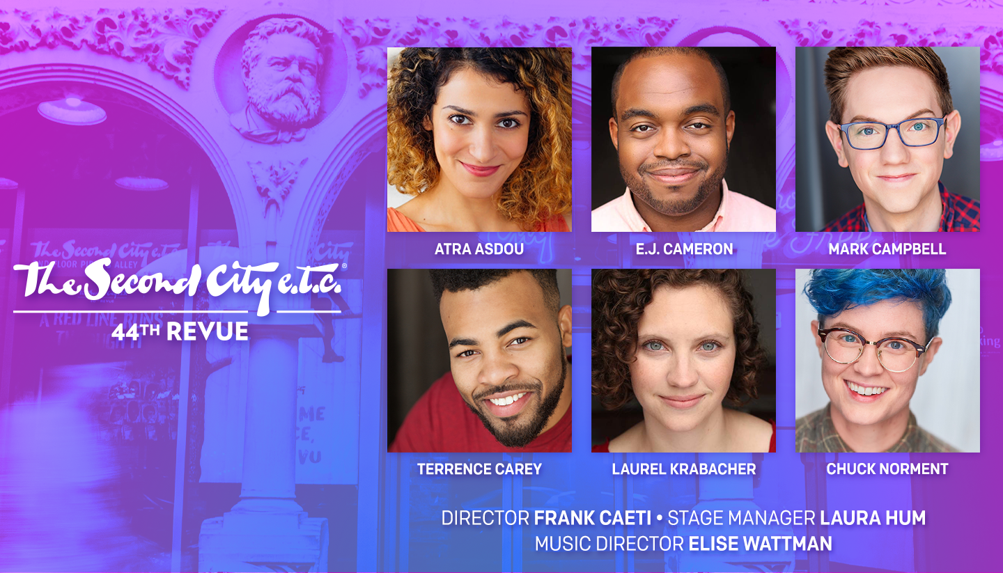 Casting Announced for The Second City e.t.c.'s 44th Revue
