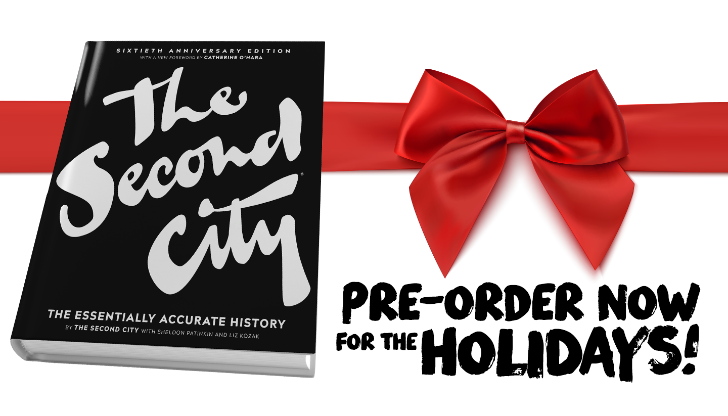 The Second City's Brand New Book Is Now Available for Pre-Order
