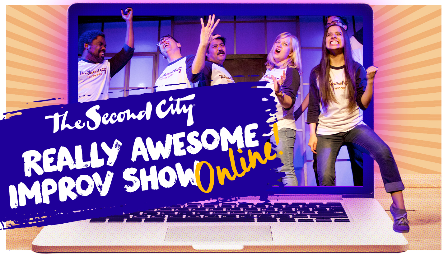 The Really Awesome Improv Show - Online!