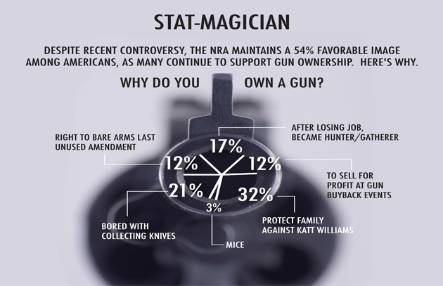 Stat-Magician: Why Do You Own a Gun?