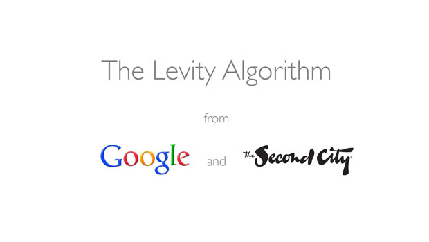 The Levity Algorithm for Google Apps – New Feature from Google