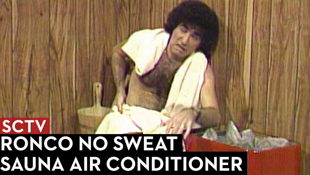 SCTV Ronco No Sweat Sauna Air Conditioner