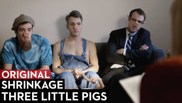 Three Little Pigs in Therapy : Shrinkage Episode 1