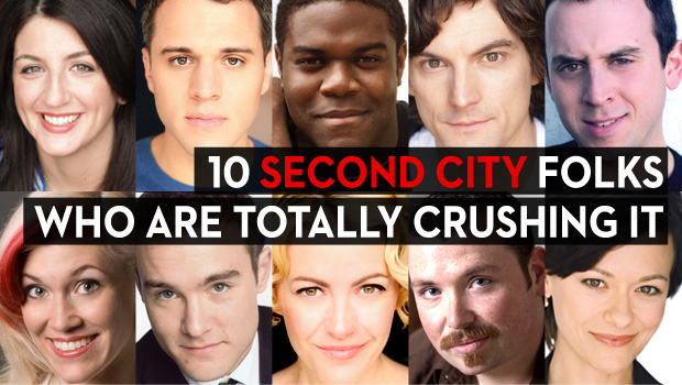 10 Second City Folks Who Are Totally Crushing It