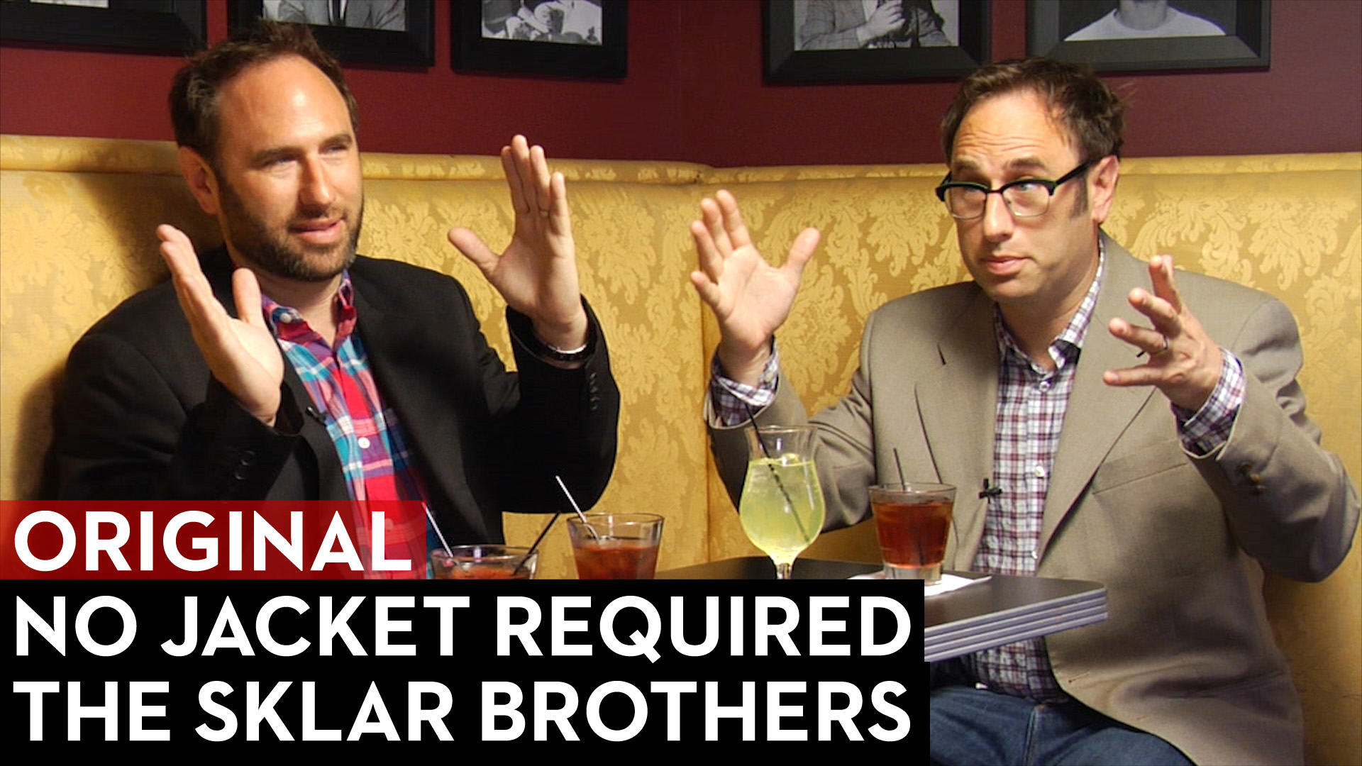 The Sklar Brothers on No Jacket Required