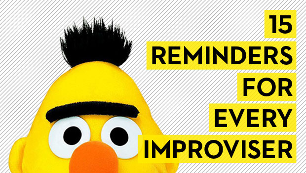 15 Reminders for Every Improviser