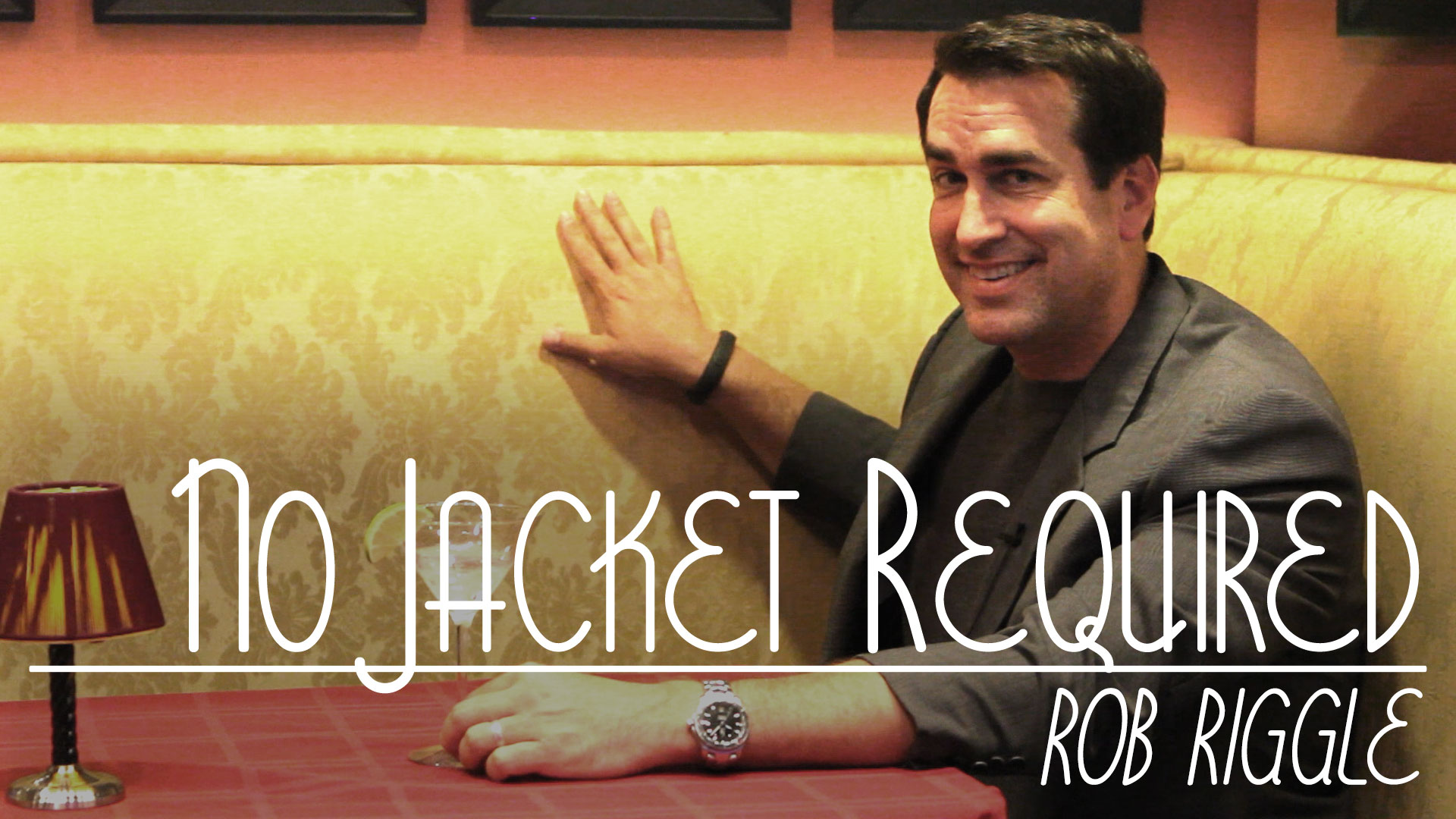 Rob Riggle on No Jacket Required