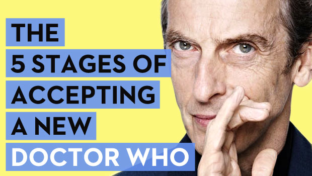 The 5 Stages of Accepting a New Doctor Who