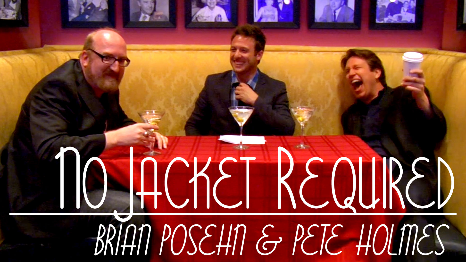 Brian Posehn and Pete Holmes on No Jacket Required