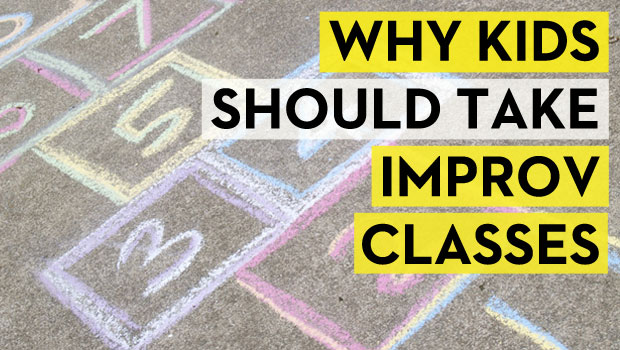 Why Kids Should Take Improv Classes