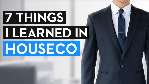 7 Things I Learned in HouseCo