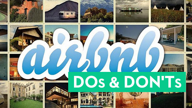 Airbnb Dos & Don'ts