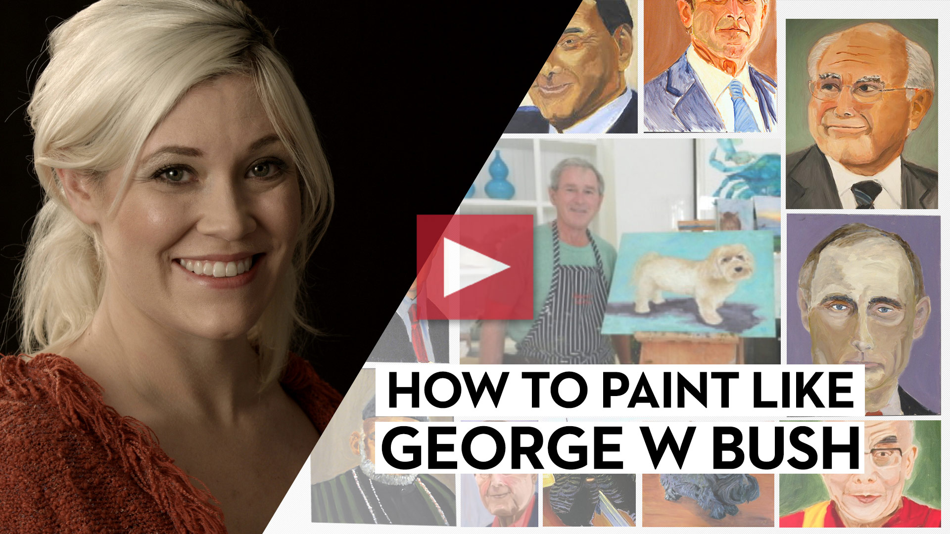 How to Paint Like George W. Bush