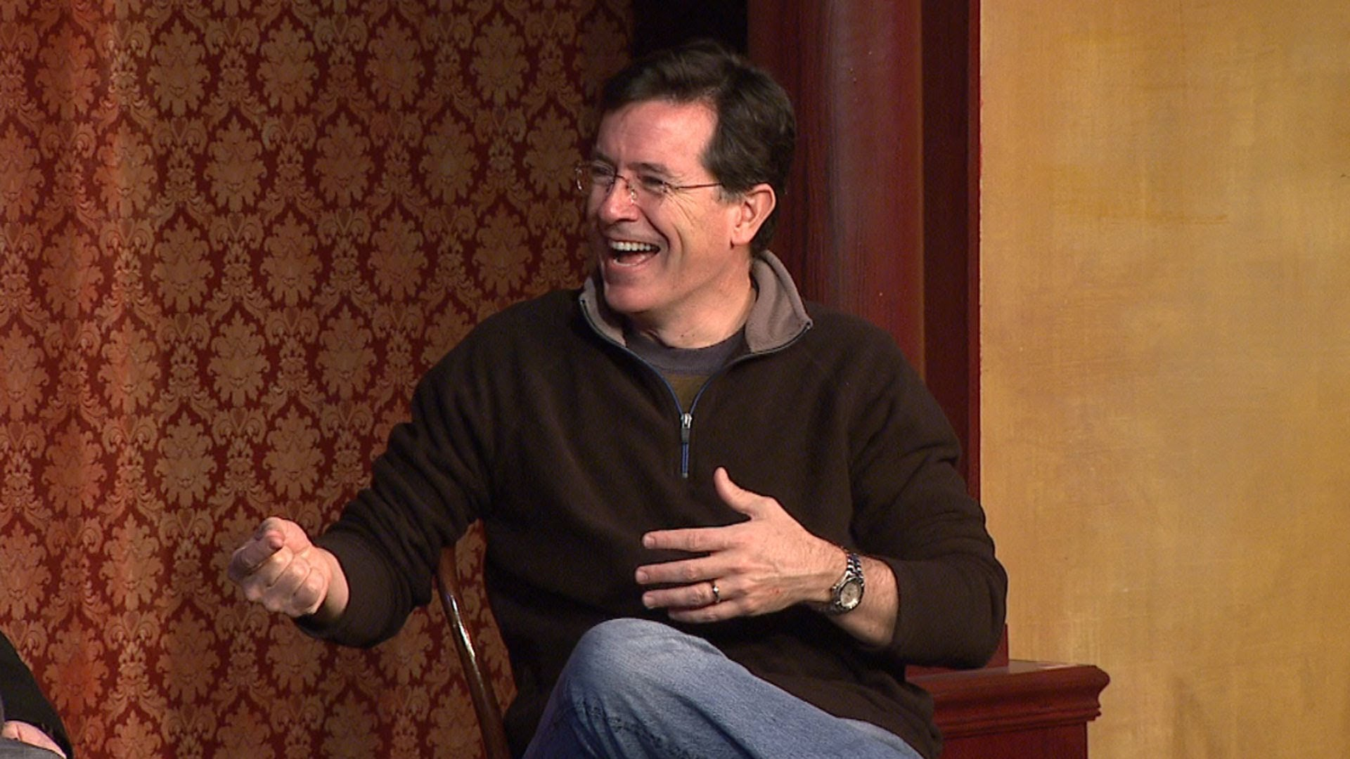 Stephen Colbert New Late Show Host  | Interview Process.