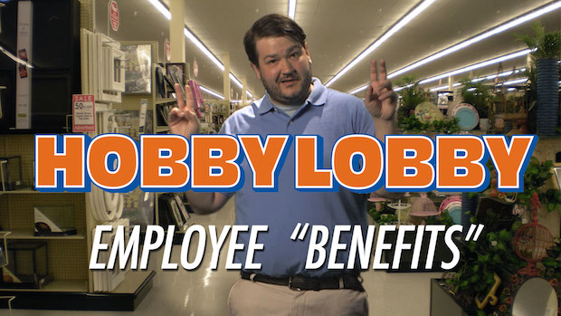"Hobby Lobby's Employee ""Benefits"""