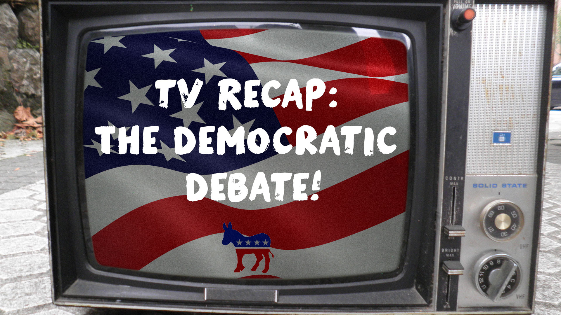 TV Recap: DemDebate (Pilot)