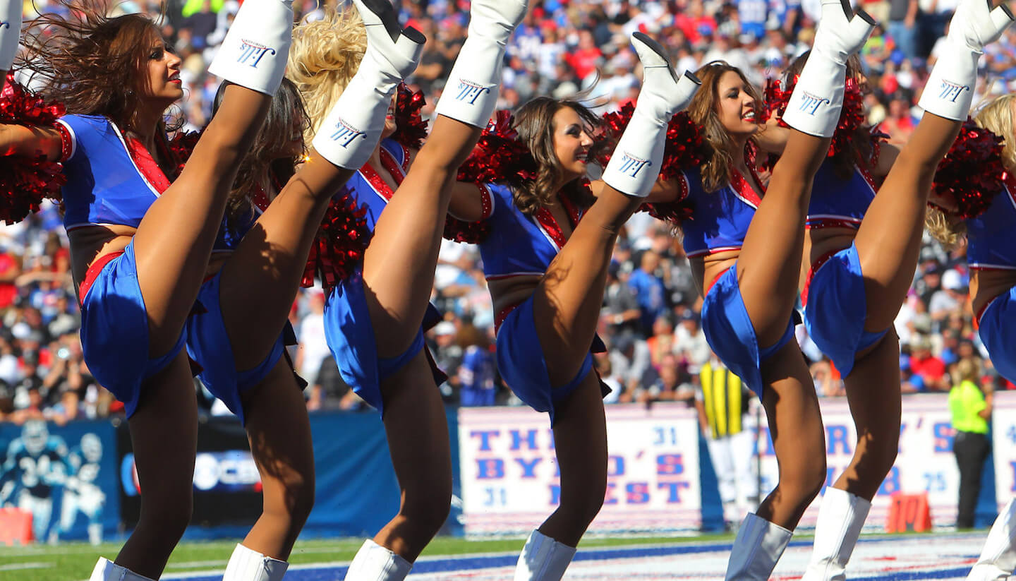 NFL Cheerleaders Don't Need Anymore, Like, Money and Stuff