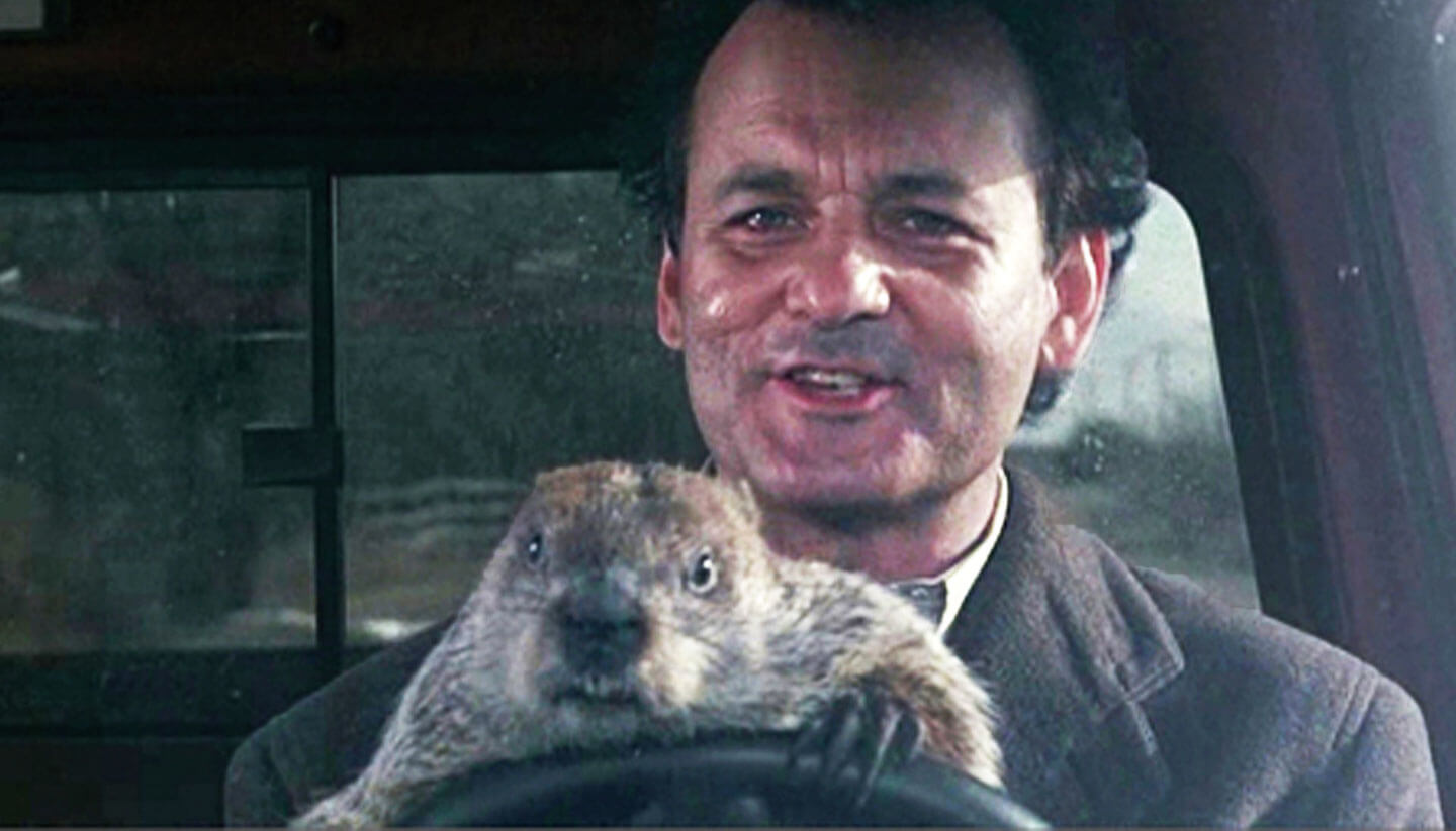 Let's Celebrate Groundhog Day by Watching Matt Lauer Interview an Agitated Rodent