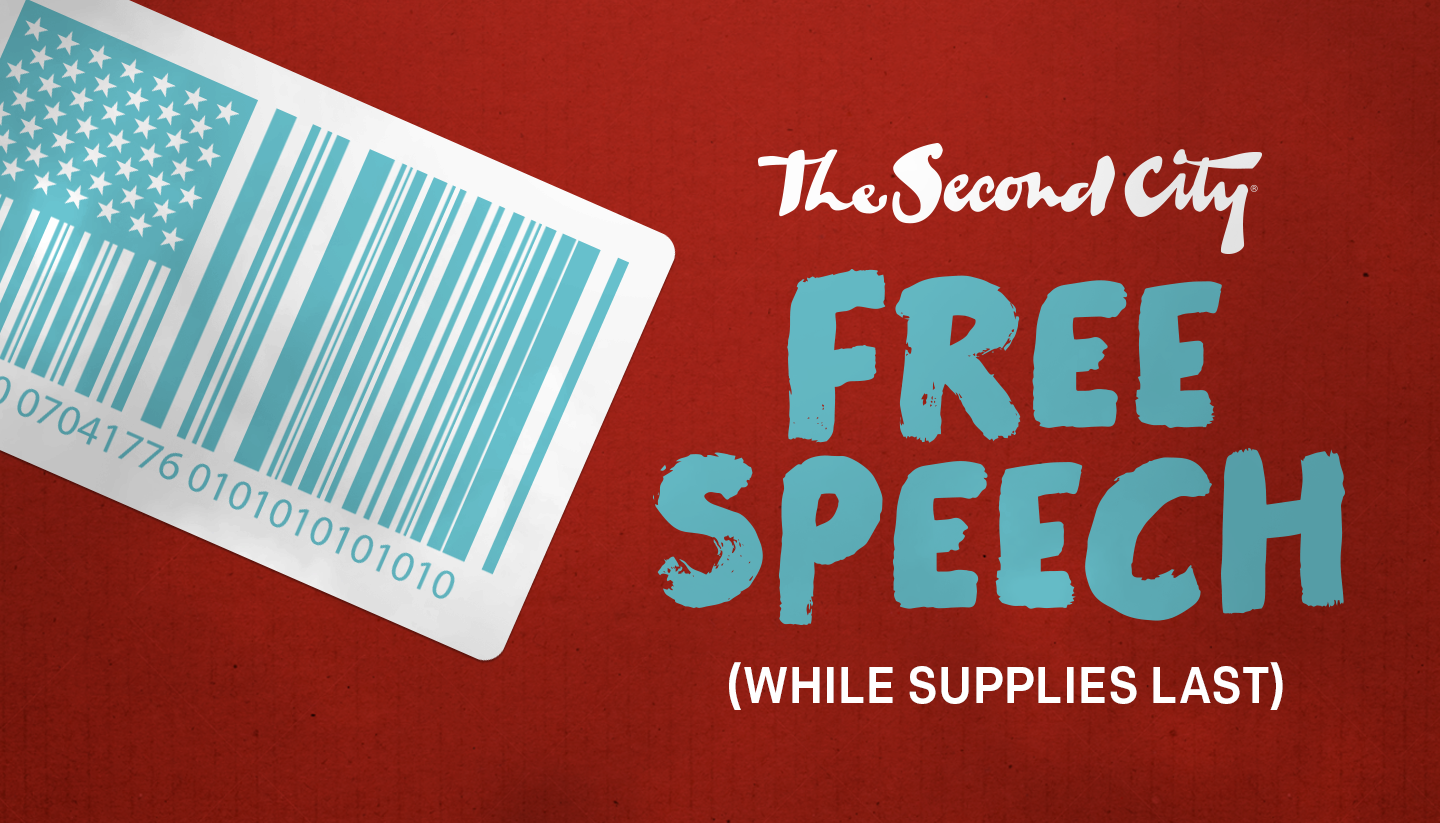 Free Speech! (While Supplies Last)