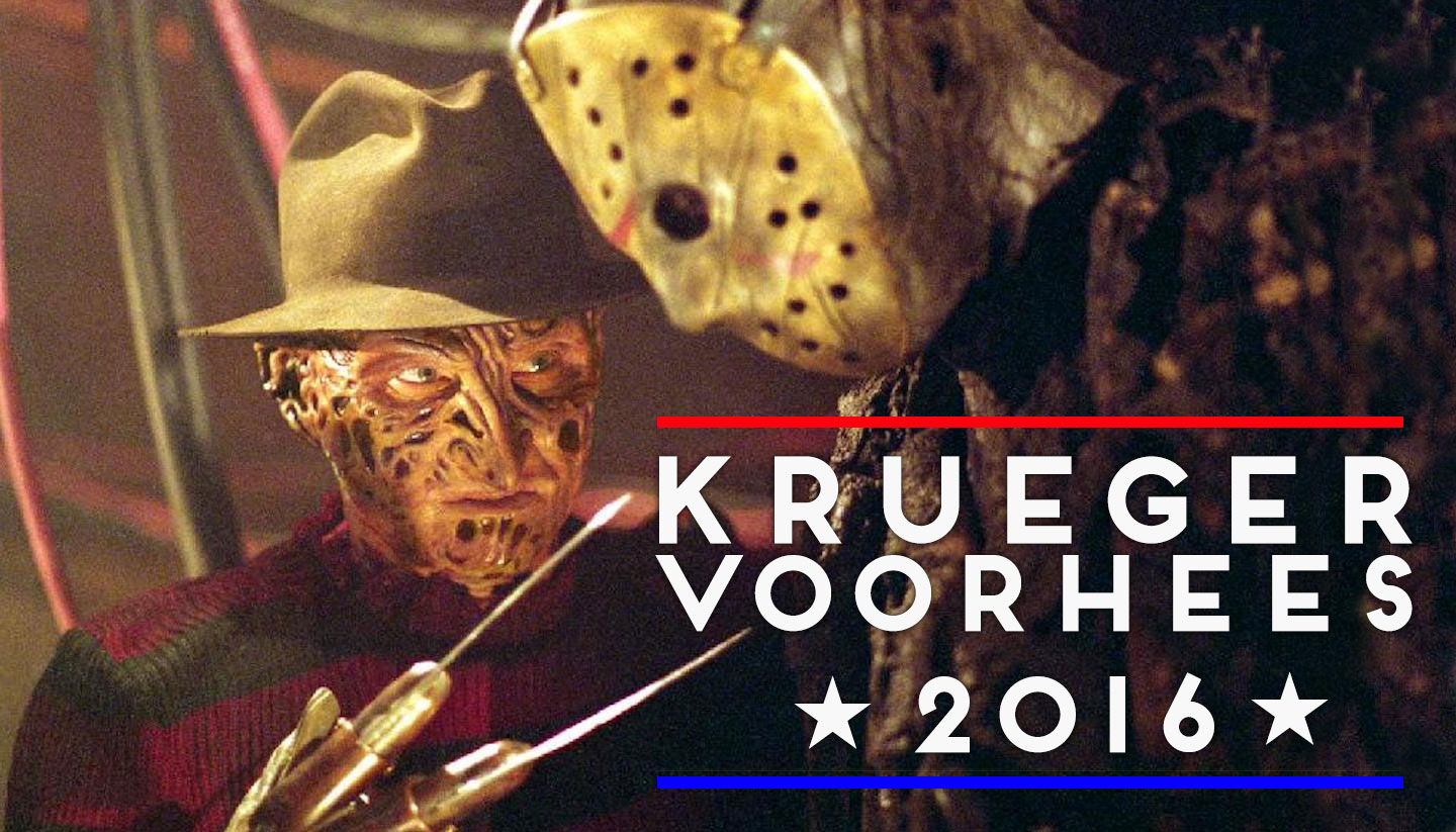 We Should All Actually Vote for the Freddy Krueger/Jason Voorhees Ticket