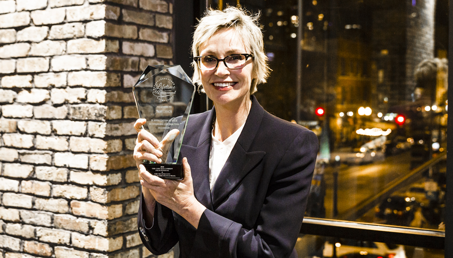 Jane Lynch Got a Lifetime Achievement Award for Being a Veritable 'Comedy Badass'