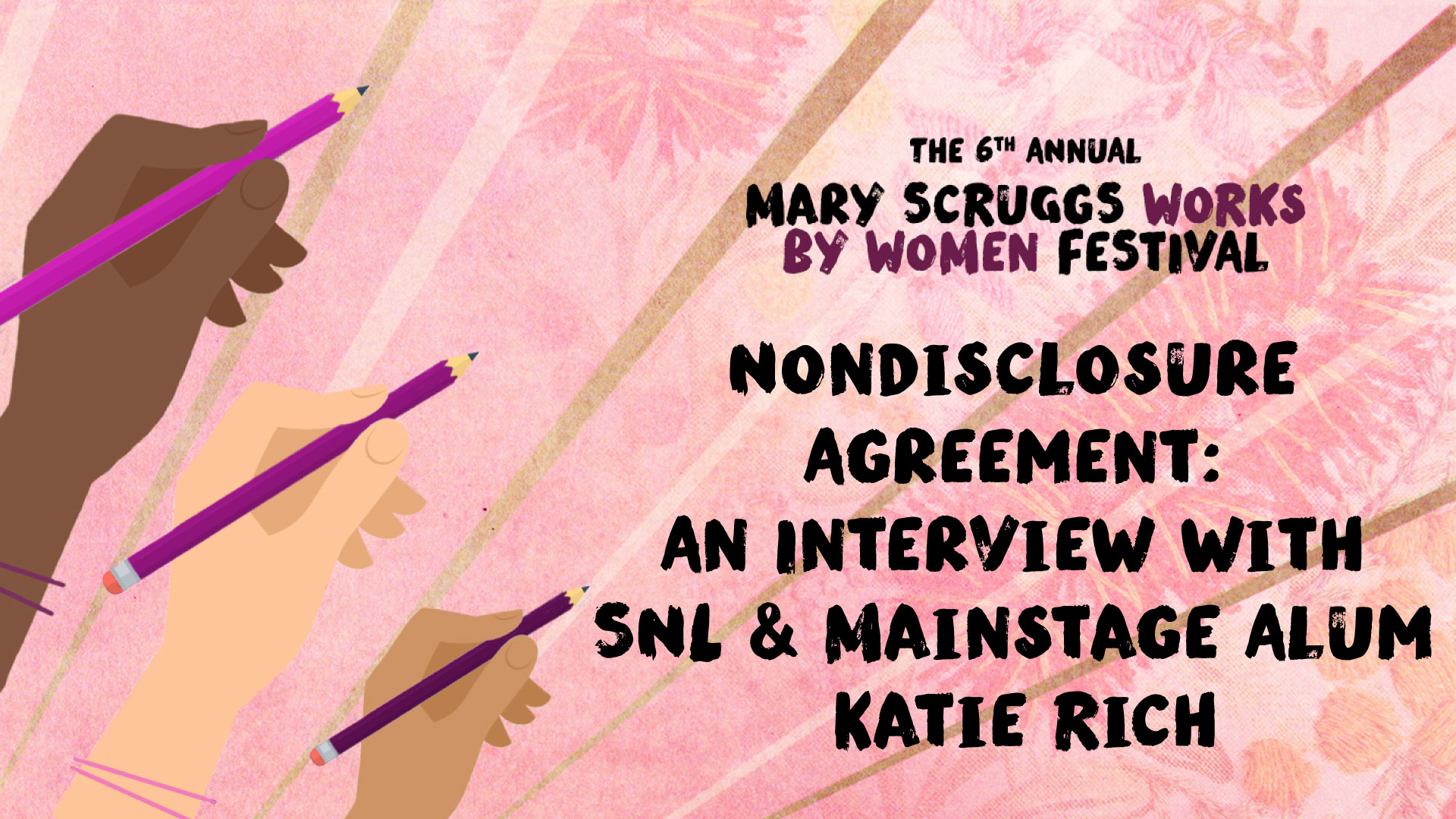 Nondisclosure Agreement: An Interview with SNL & Mainstage Alum Katie Rich